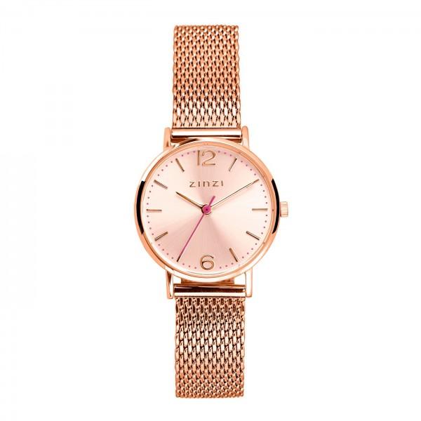 Zinzi Rosé Horloge 28 mm ZIW605M