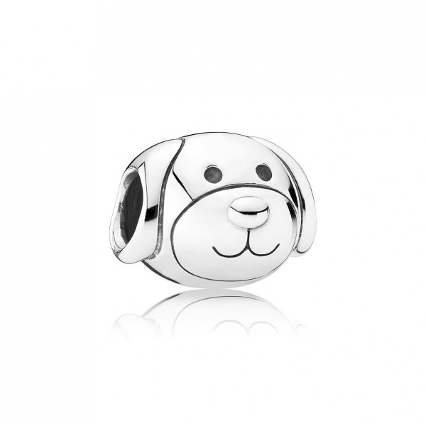 Pandora Moments Trouwe Hond Bedel Dames 791707 Zilver