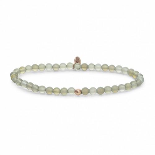 Sparkling Jewels Additional Damesarmband SB-GEM31-ADD-4mm Agaat Rosé