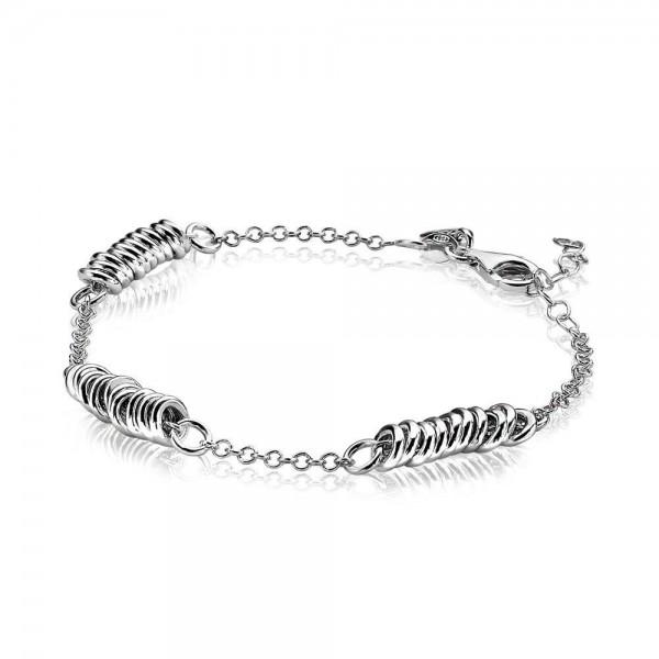 Zinzi Fantasie Armband Dames ZIA1339 Zilver