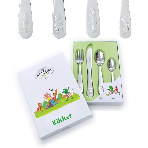 Keltum Kinderbestek Kikker KS066.GA4