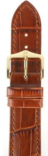 Hirsch horlogeband - Duke Goudbruin L - 24mm