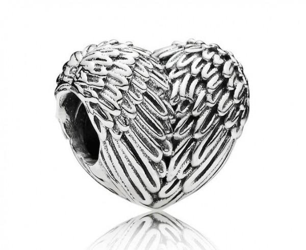 Pandora Angel Heart Bedel 791751 Zilver