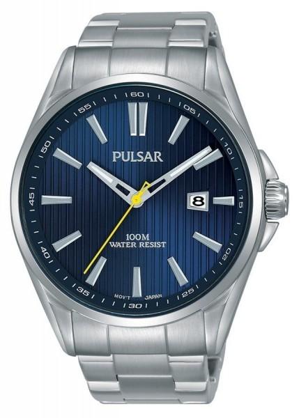 Pulsar Herenhorloge Analoog Quartz PS9603X1 Zilverkleurig Blauw