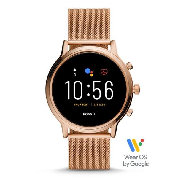 Fossil Smartwatch Julianna (GEN 5) FTW6062 rosékleurig