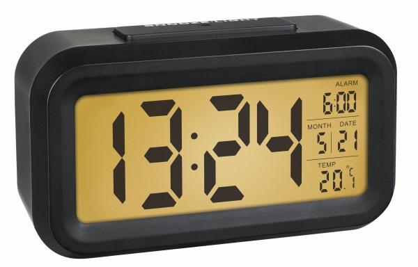 TFA Dostmann Lumio Wekker Digitaal 60.2018.01 Quartz Thermometer