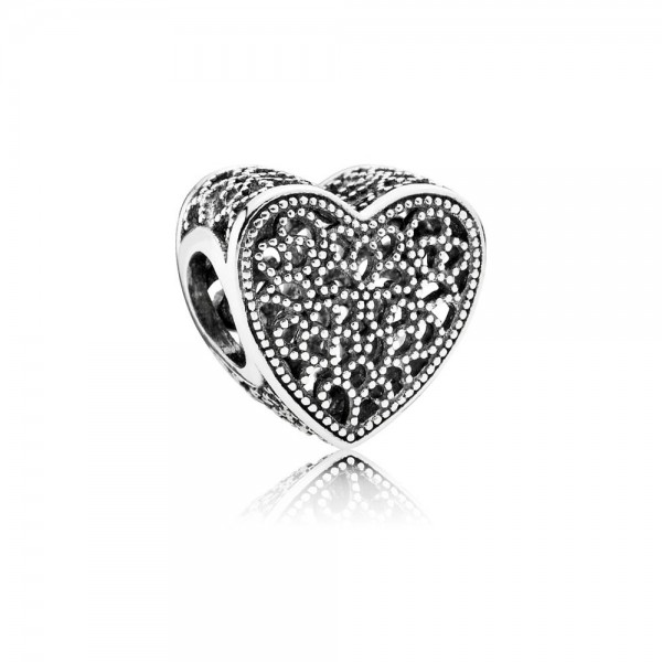 Pandora Filled with Romance Bedel 791811 Zilver