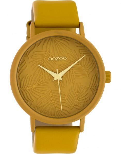 OOZOO Horloge Okergeel - C10172