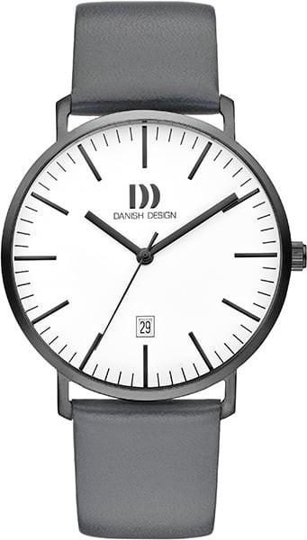 Danish Design Herenhorloge Quartz IQ12Q1237 Grijs Wit