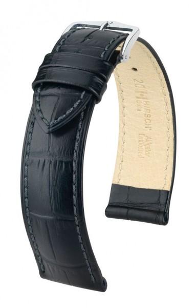 Hirsch - Horlogeband Duke M 18mm Zwart