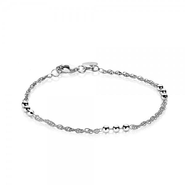 Zinzi Armband Dames Fantasieschakel Bol ZIA1422 Zilver