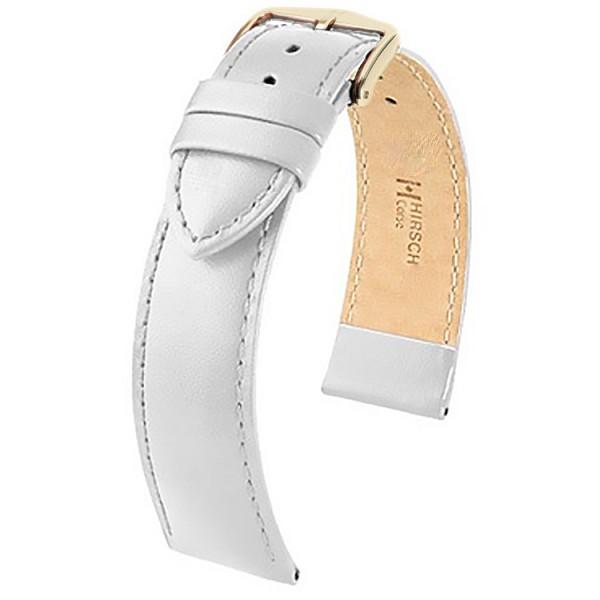 Hirsch horlogeband - CORSE - 12mm WIT - M