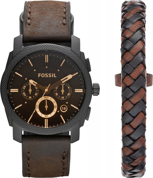 Fossil Herenhorloge FS5251SET + Armband