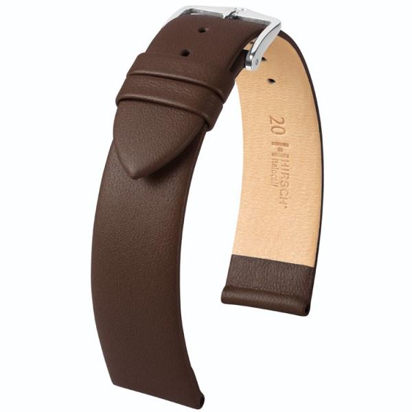 Hirsch horlogeband - ITALOCALF - 10mm BRUIN - M