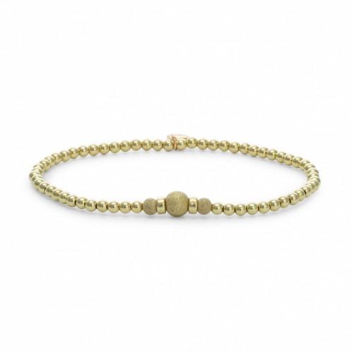 Sparkling Jewels Additional Damesarmband SBG-TOAK-CHAM Verguld Zilver