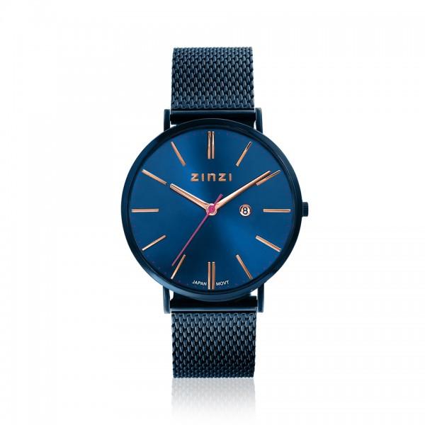 Zinzi Blauw Horloge 38 mm ZIW414M