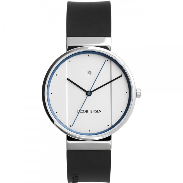 Jacob Jensen Horloge - Zwart - 750 New Line