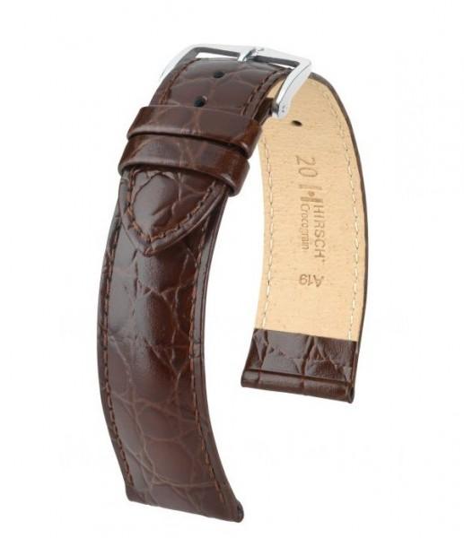 Hirsch - Crocograin 22mm Bruin