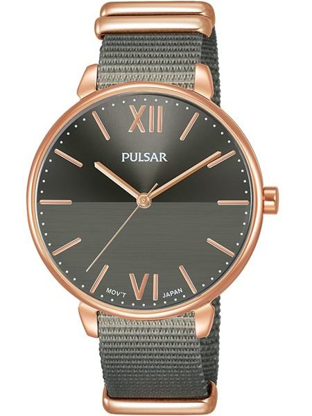 Pulsar Dameshorloge Quartz Analoog PH8452X1 Rosé Grijs