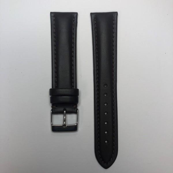 Remerko Horlogeband - Donker Bruin - 20mm