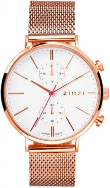 Zinzi Rosé Wit Horloge 39 mm ZIW708M