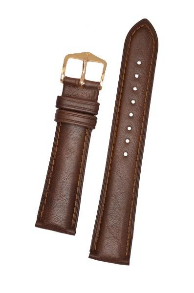 Hirsch Camelgrain Horlogeband Unisex 01009015-2-20 Bruin 20mm Leer