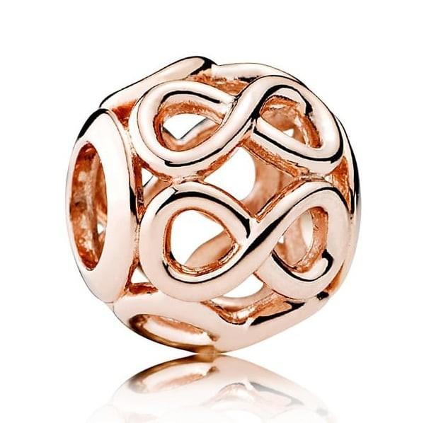 Pandora Rose Infinity Bedel Dames 781872 Roseverguld Zilver