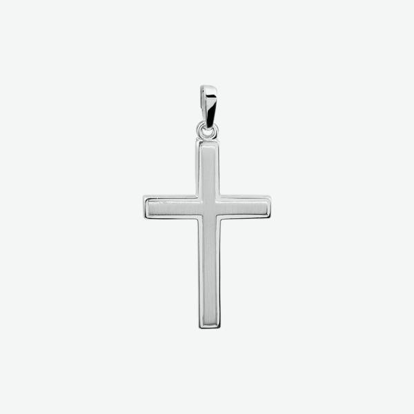Zilveren Hanger - Kruis - 1005070
