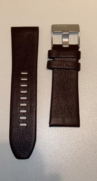 Diesel Horlogeband - Leer met Gesp - ADZ1475