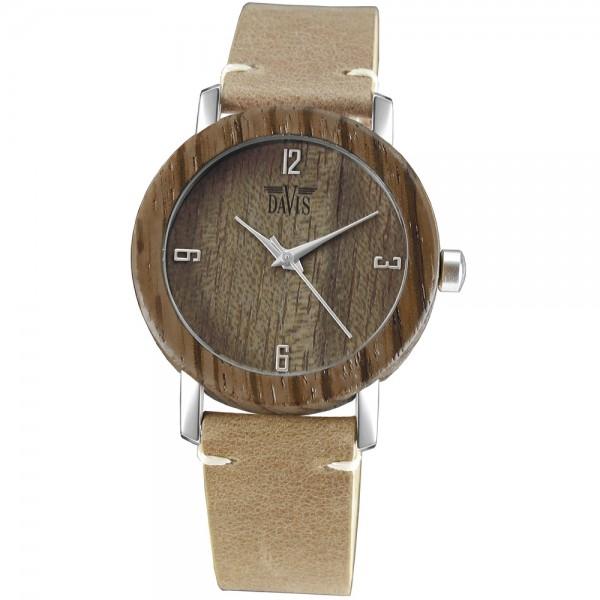 Davis Houtkleurig Horloge 2131