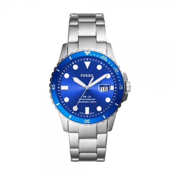 Fossil herenhorloge FS5669 Dive blue