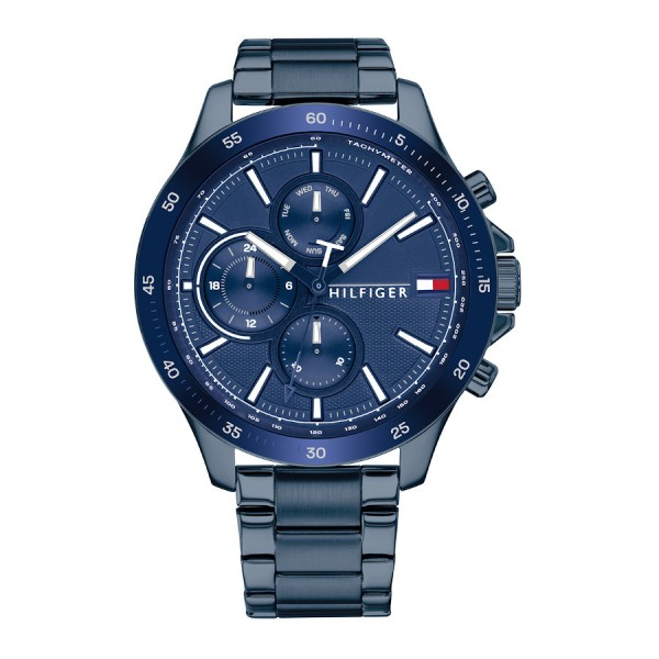 Tommy Hilfiger herenhorloge TH1791720 - blauw