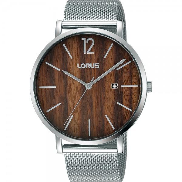 Lorus Gents Herenhorloge - Zilverkleurig - RH995MX9