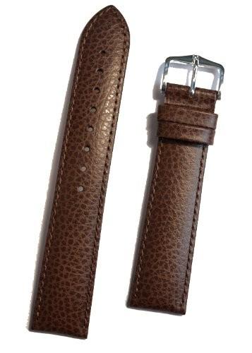 Hirsch Kansas Horlogeband Bruin 20mm Kalfsleder