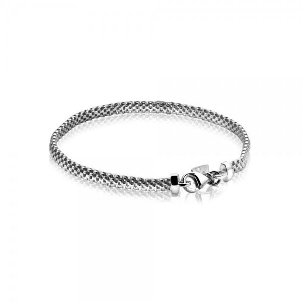 Zinzi Armband Dames Fantasieschakel ZIA878 Zilver