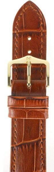 Hirsch horlogeband - Duke Goudbruin - 16mm