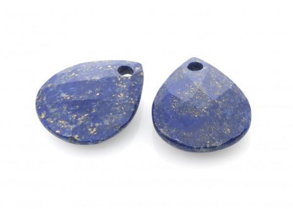 Sparkling Jewels Oorsieraad Gemstone EAGOLD04 Lapis Lazuli Facet
