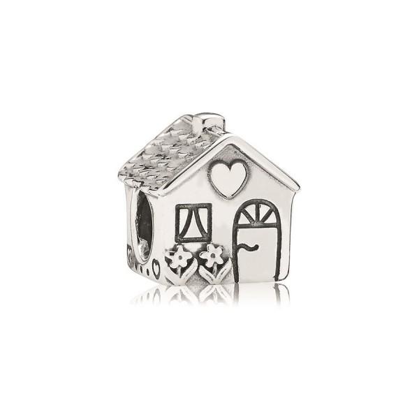 Pandora Huisje 791267 zilver