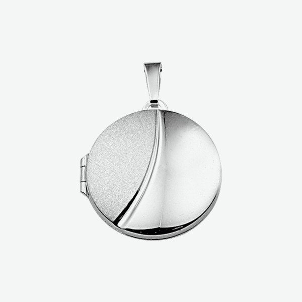 Zilveren Hanger - Medaillon - 1014523