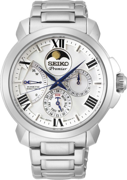 Seiko Premier Kinetic Herenhorloge SRX015P1