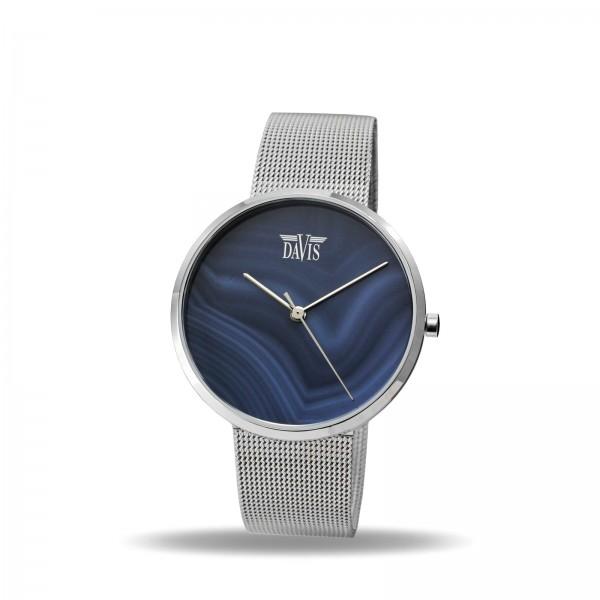 Davis 2334 Grijs Agaat Horloge