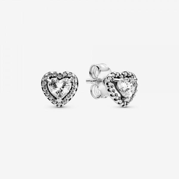 Pandora Oorknoppen 298427C01 Elevated Heart