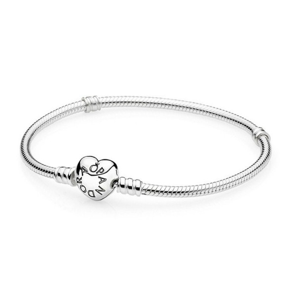 Pandora 590719 armband Heart 21cm