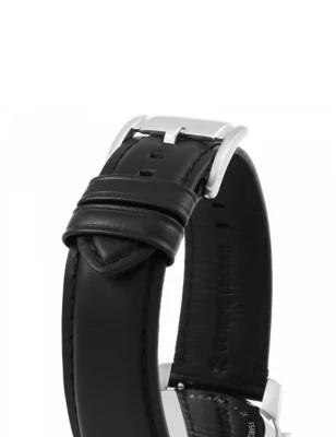 Fossil Grant Herenhorloge FS4812IE Zilverkleurig Zwart