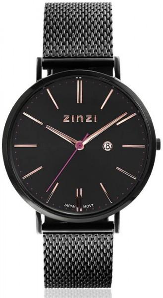 Zinzi ZIW409M Zwart 38mm + gratis Zinzi armbandje