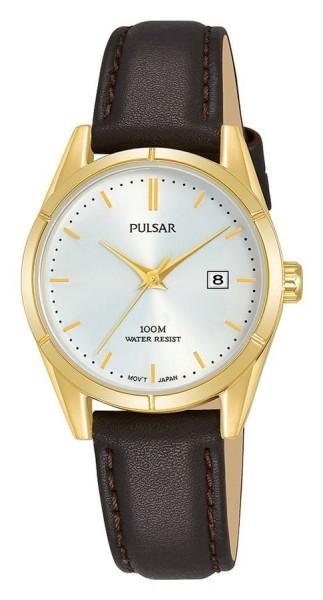 Pulsar Dameshorloge Quartz Analoog PH7478X1 Goudkleurig Zilverkleurig