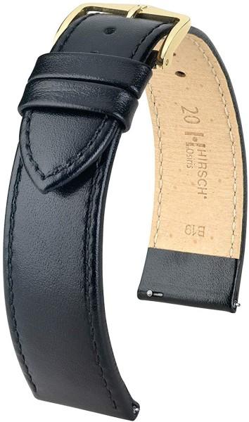 Hirsch - Horlogeband Osiois 14mm Zwart