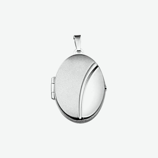 Zilveren Hanger - Medaillon - 1012045