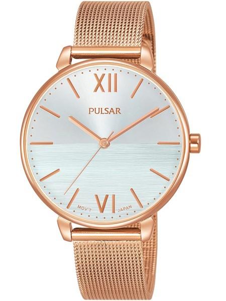 Pulsar Dameshorloge Quartz Analoog PH8448X1 Rosé Zilverkleurig