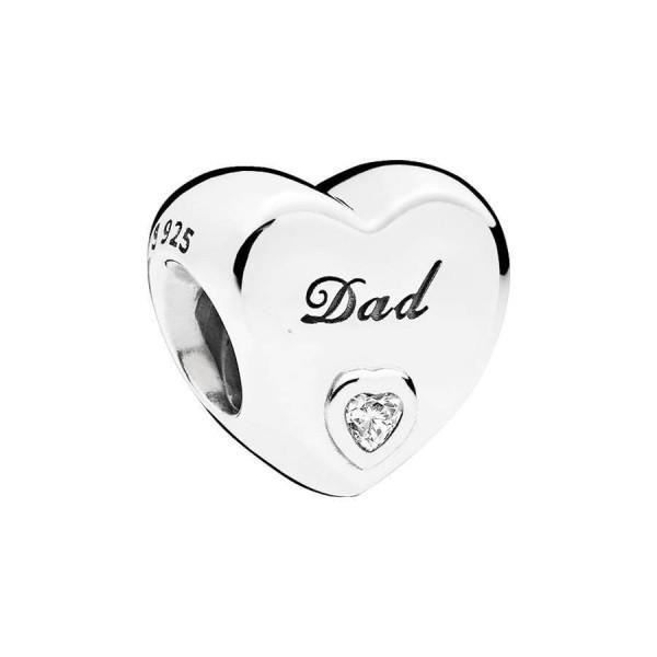 Pandora charm 796458CZ Vader (Dad)